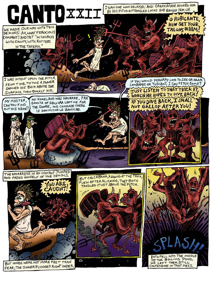 Dante's Inferno, Canto XXII