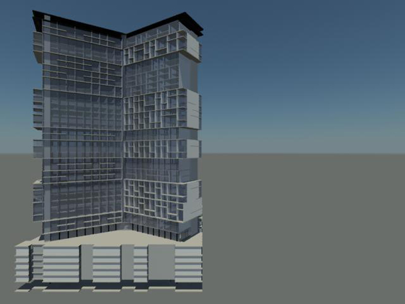 Mid-rise rendering