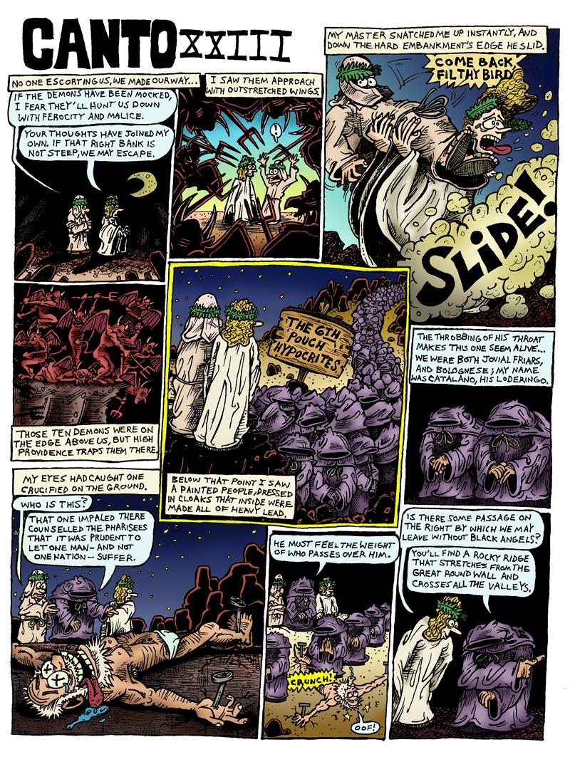 Dante's Inferno, Canto XXIII