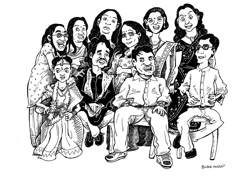 Group Cartoon 3